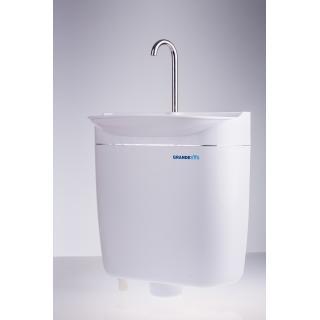 Úsporný WC splachovač s umyvadlem AQUAdue GrandesYs