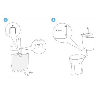 Úsporný WC splachovač s umyvadlem AQUAdue GrandesYs obr.9