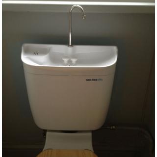 Adaptér pro instalaci umyvadla Aquadue na WC s mísou kombi obr.4