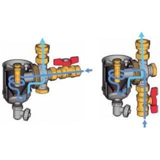 "Magnetický filtr Giacomini R146C - 3/4"" (DN20) obr."