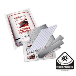 Odrazová folie za radiatory Radflek - Set pro 6 radiátorů