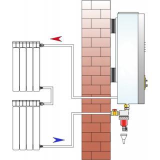 """Magnetický separační filtr Vipsgas Magnetic V4 - 3/4"""" obr.8"""