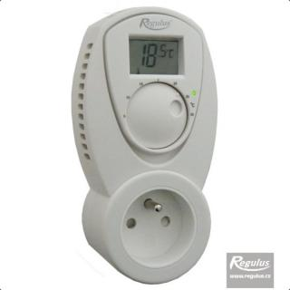 Zásuvkový termostat Regulus TZ 33
