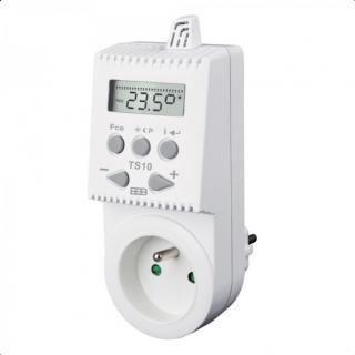 Zásuvkový programovatelný termostat Elektrobock TS10
