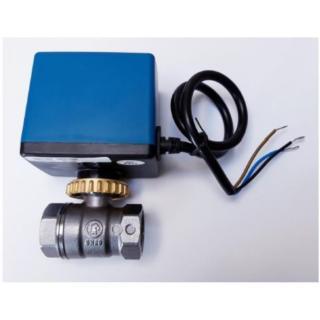 """Kulový ventil na pitnou vodu Giacomini R250D 1/2"""" se servopohonem ZV Lufberg 230V"""