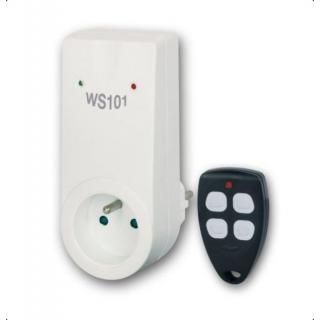 Dálkově ovládaná zásuvka Elektrobock WS101 s ovladačem