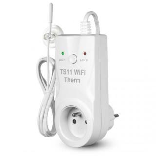 Bezdrátová zásuvka TS11 WiFi therm