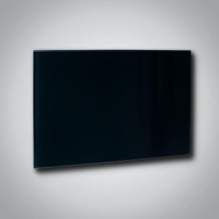 Skleněný infrapanel GR 300 - Černý