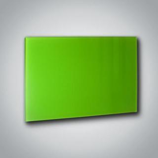 Skleněný infrapanel GR 500 - Zeleno-žlutý