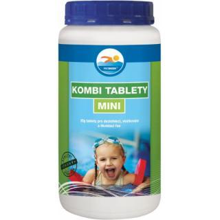KOMBI tablety MINI 2,5 kg - dezinfekce, likvidace řas a vyvločkování nečistot